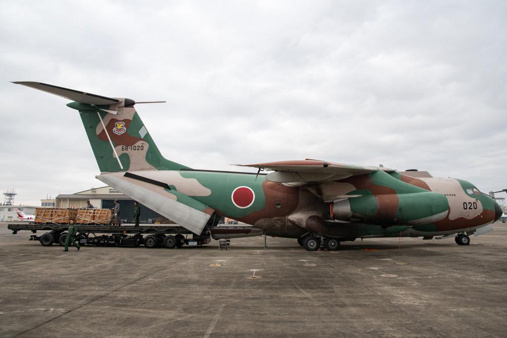 © Duncan Monk - JASDF Iruma Kawasaki C-1