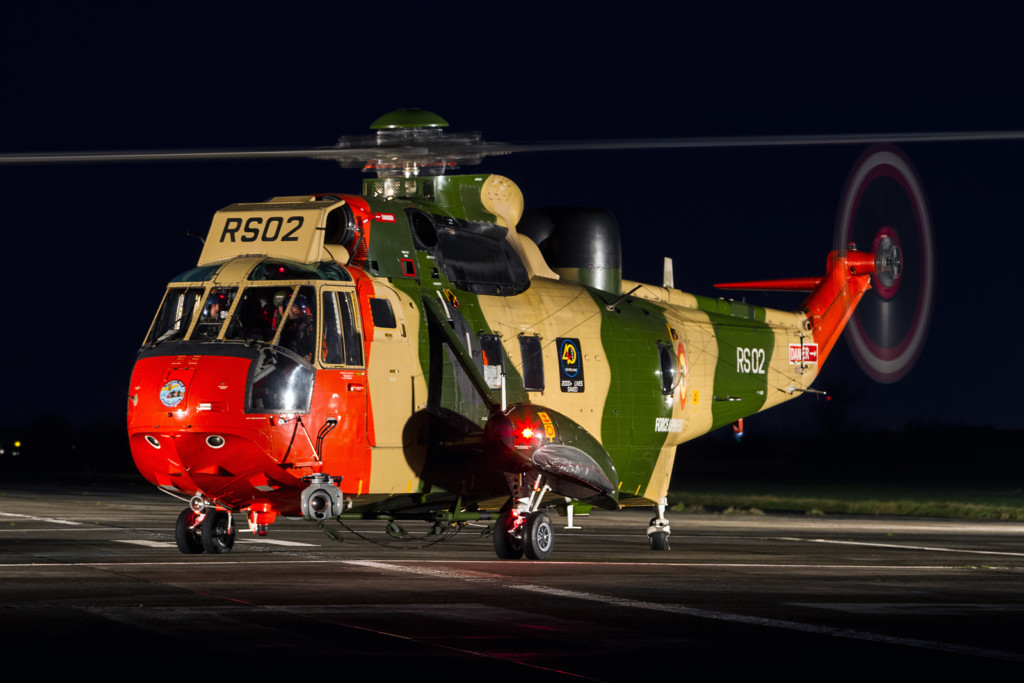 © Nick Thompson - Belgian Sea King Retirement
