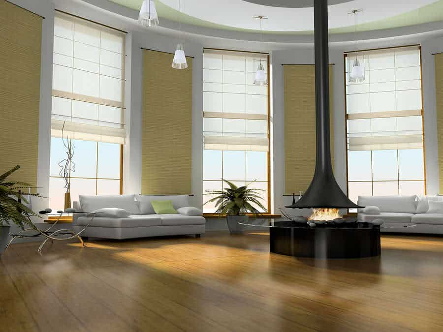 Roman Shades are an affordable and versatile way to enhance your windows with Aero Shade Co in Los Angeles