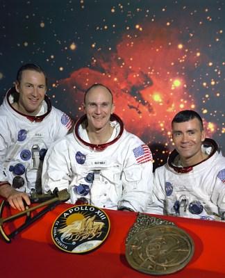 Apollo 13 Mission Crew