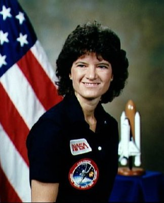 Sally Ride Picture - First American Woman in Space