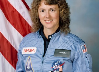 Christa McAuliffe - NASA Teacher in Space Picture