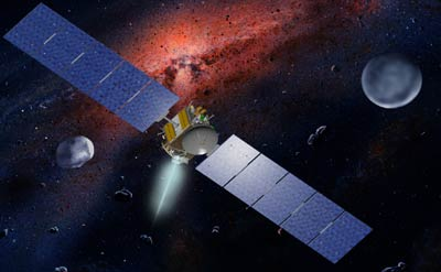 Dawn Spacecraft - Dawn Mission Picture
