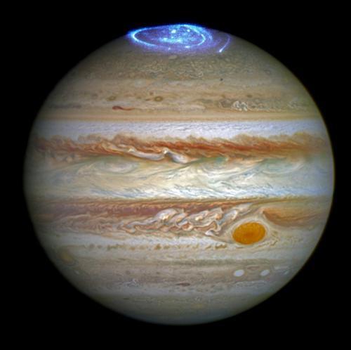 Planet Jupiter Aurora Hubble Picture