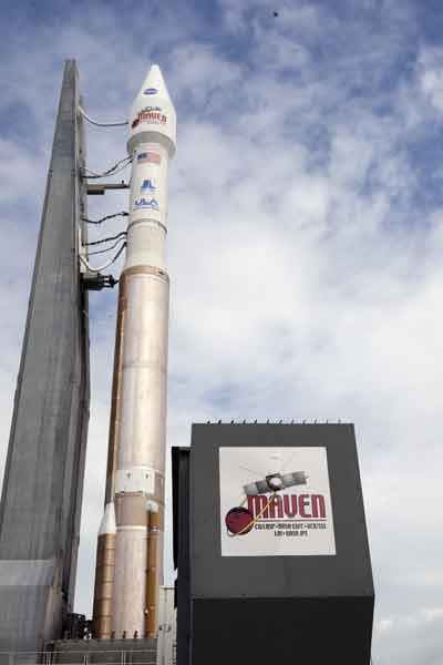 Maven Launch Sign
