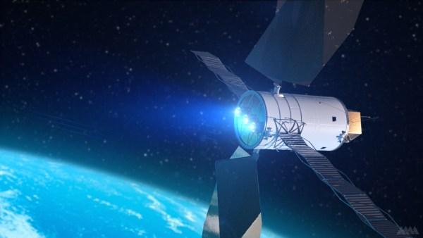 Solar Electric Propulsion Spacecraft Picture