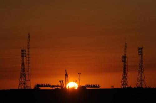 Soyuz Launch Pad at Baikonur Cosmodrome Picture