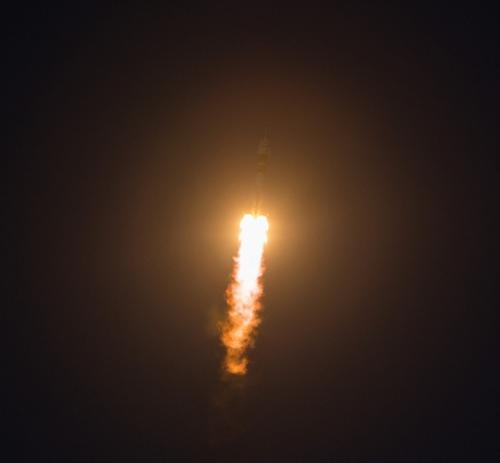 Soyuz TMA-07M Rocket Picture