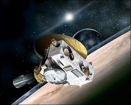 New Horizons Spacecraft Probe Picture