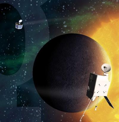 BepiColombo at Planet Mercury