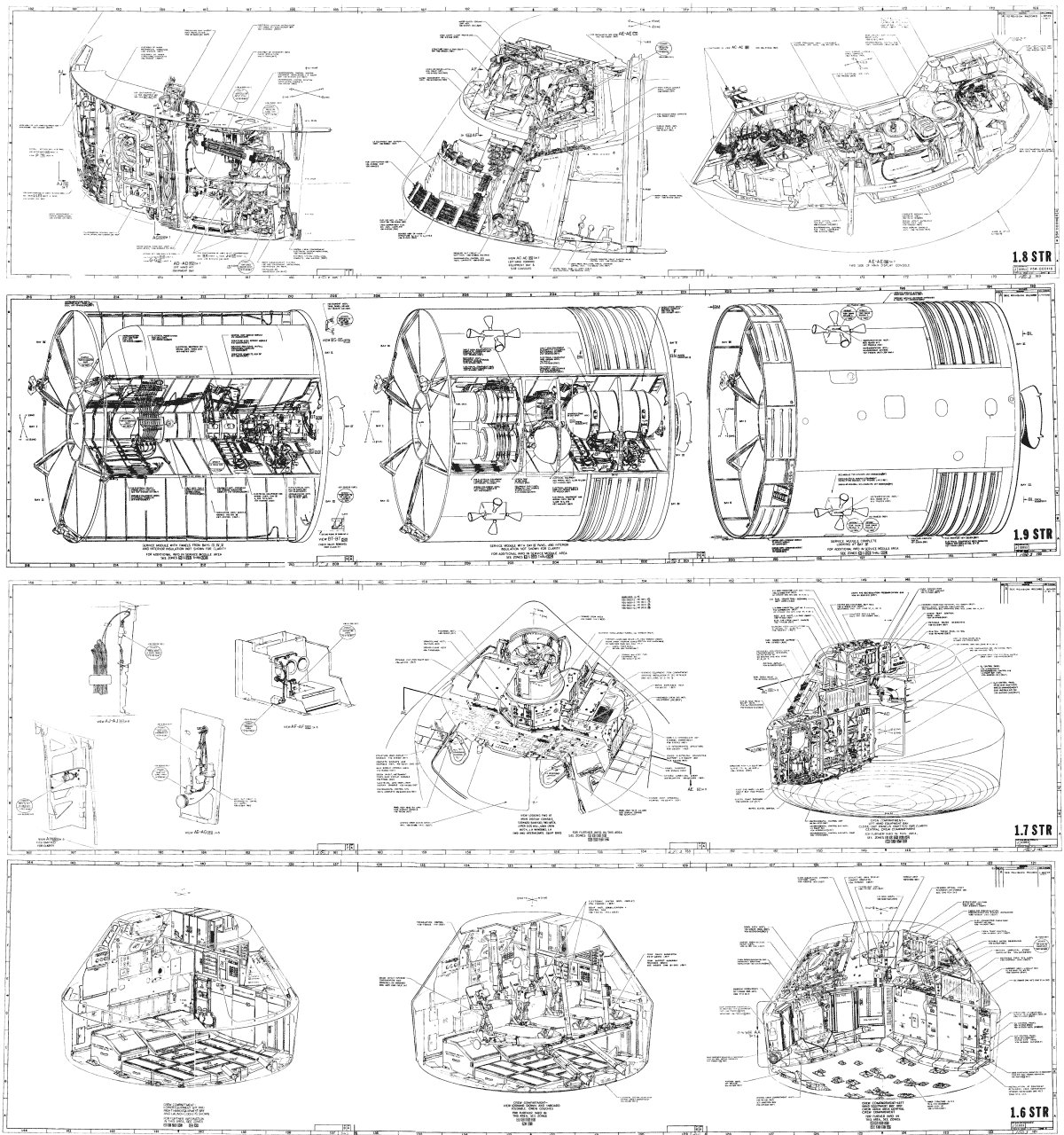 apollo 11 lunar module diagram 12v led wiring service page 3 pics about space