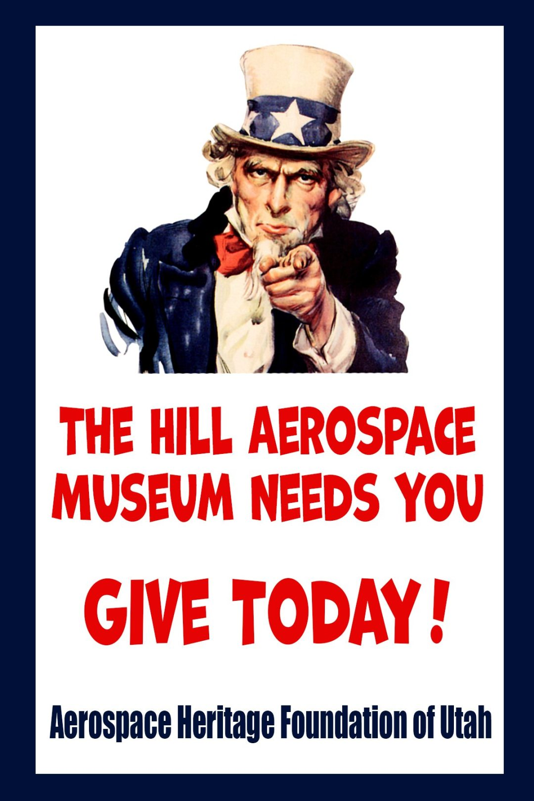 We Want You to give to the Museum!