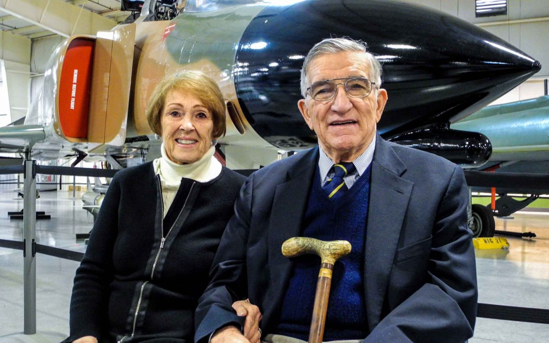 Gen. (USAF Ret.) Robert C. Oaks was honored today at the Hill Aerospace Museum