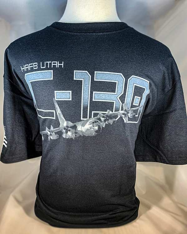 """Hill Afb -130 """"hercules"""" T Shirts Adult And Youth Sizes"""