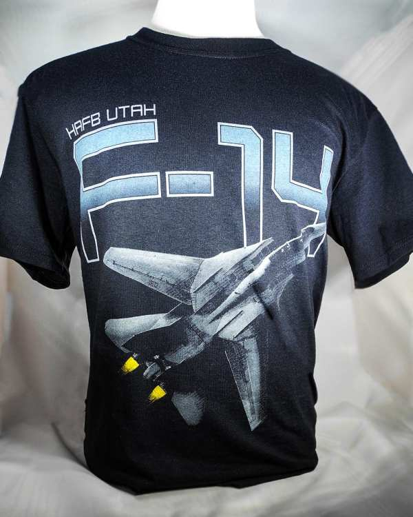 """Hill Afb -14 """"tomcat"""" T-shirt Adult And Youth Sizes"""
