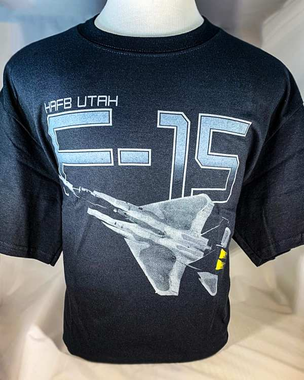 """Hill Afb -15 """"eagle"""" T-shirt Adult And Youth Sizes"""