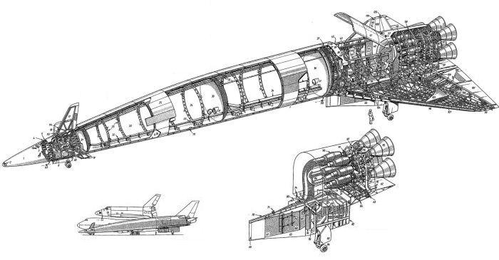 Jet Engine Cutaway Drawing