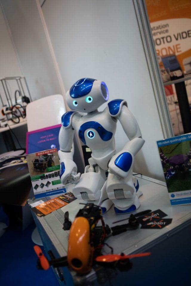 Une salle de jeux avec les drones ouvrira l'an prochain près de Bordeaux. Crédit : IO Studio Photographie.