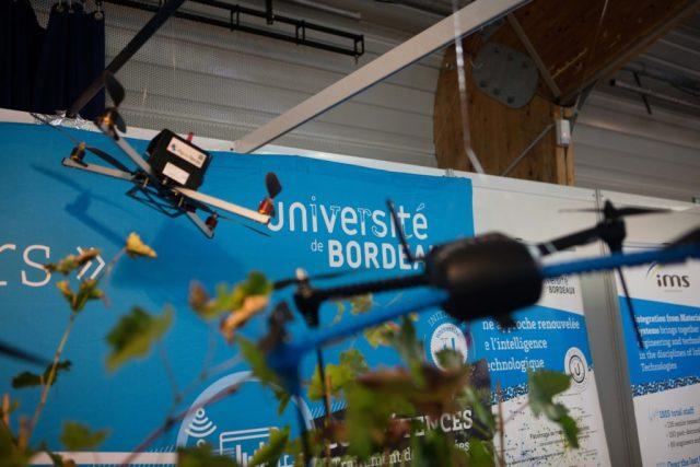 L'Université de Bordeaux a montré ses compétences sur le salon. Crédit : IO Studio Photographie