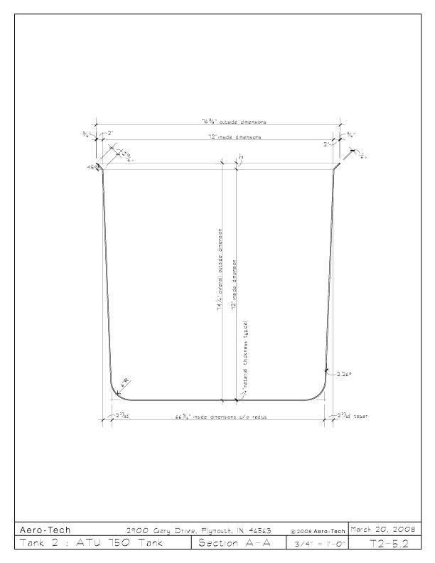 Aero-Tech :: Specifications :: ATU 750 Tank