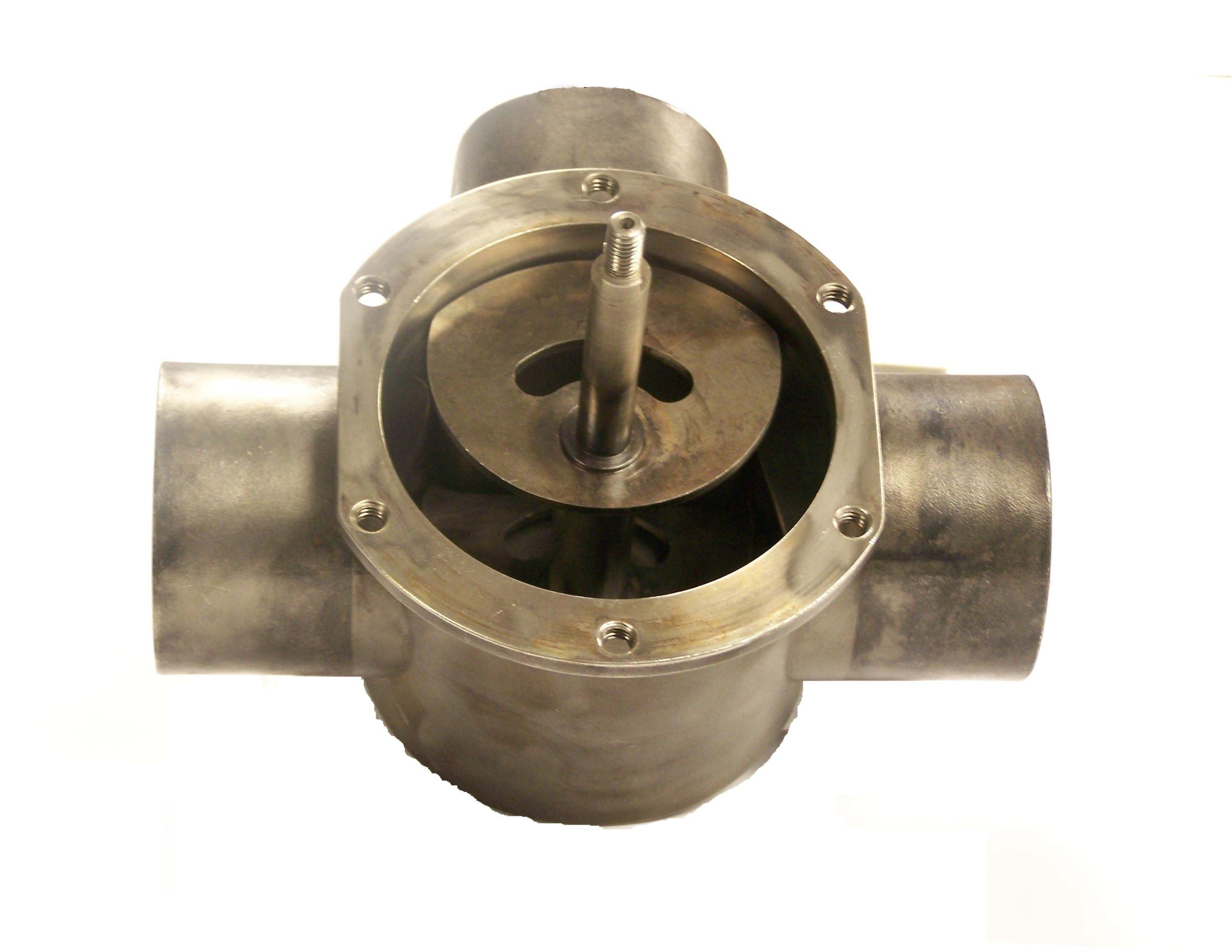 3 way exhaust diverter valve specs