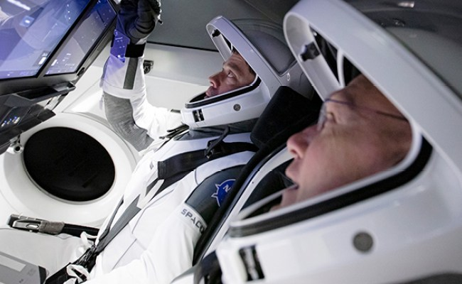 Nasa Spacex Simulate Upcoming Crew Mission With