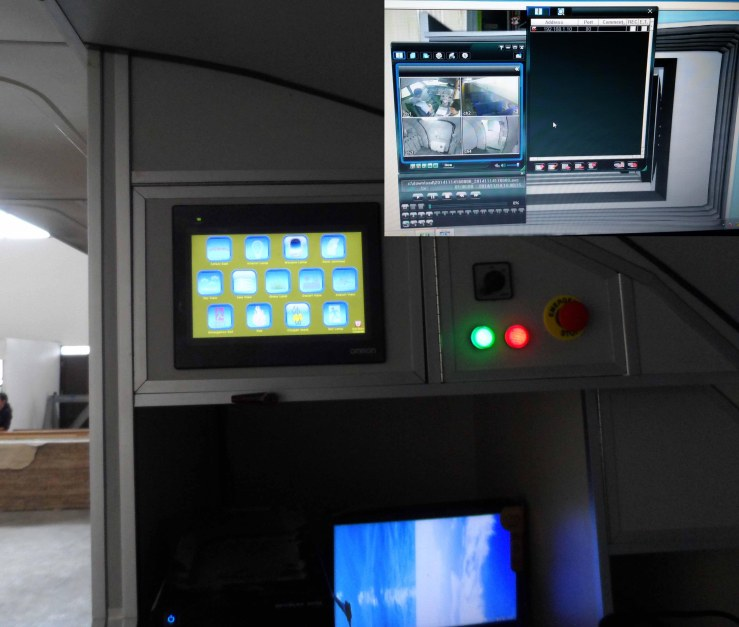 cabin training device 6