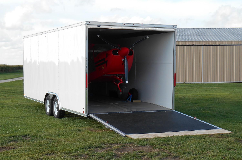 Aerotrek aircraft trailers