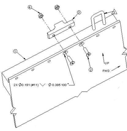 Aero Twin, Inc.-Cessna Caravan Cowl Lock System for Cessna