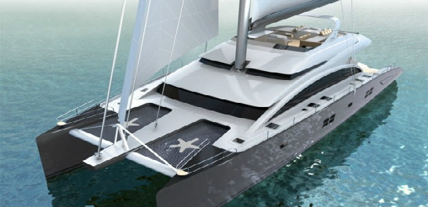 122' SUNREEF catamaran