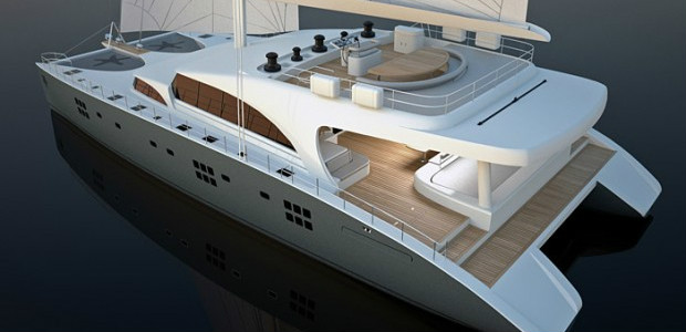 The 92 Sunreef Double Deck Catamaran Is A Twin Level Luxury Created By Expert Builders At Yachts