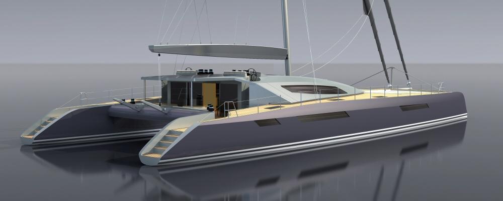 Aeroyacht 110 superyacht catamaran