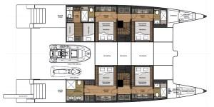 Sunreef Supreme 68 luxury catamaran Layout1