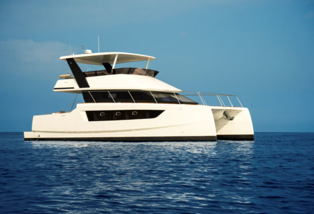 Heliotrope 48 power catamaran