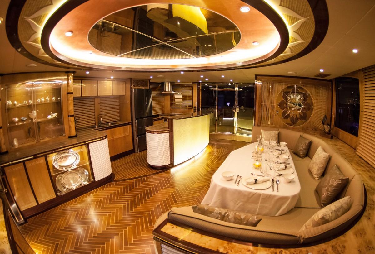 Heliotrope 70 Power Catamaran Interior6 Aeroyacht LTD