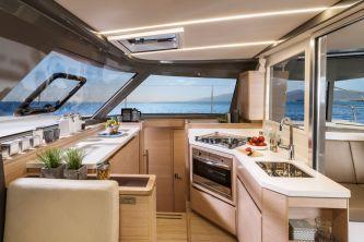 Bavaria Nautitech 40 Open catamaran 123 galley