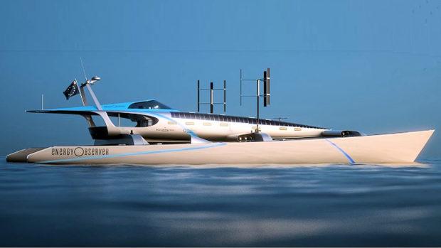 Energy Observer catamaran