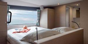 Neel 51 Trimaran interior and sailing photos