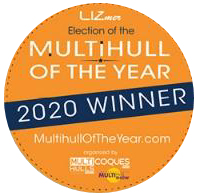 Neel 47 trimaran Multihull of the Year 2020 Winner