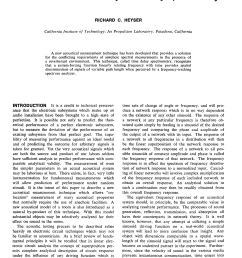 AES E-Library » Acoustical Measurements by Time Delay Spectrometry [ 3264 x 2312 Pixel ]