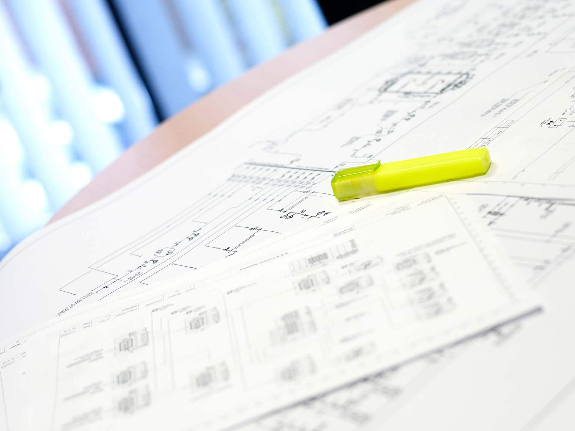 hight resolution of building management systems drawings