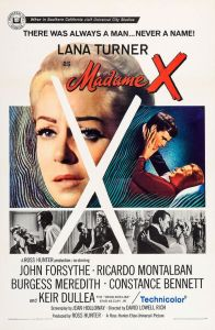 Cartaz original do filme 'Madame X