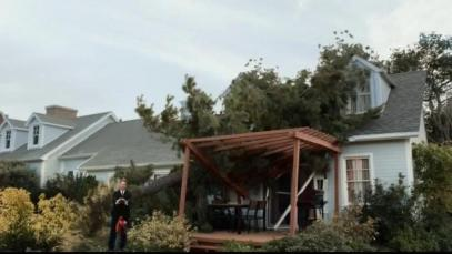 Figure 5: Allstate Commercial showing Home Tree Damage - http://www.ispot.tv/ad/Anxk/allstate-insurance-caleb-is-mayhem