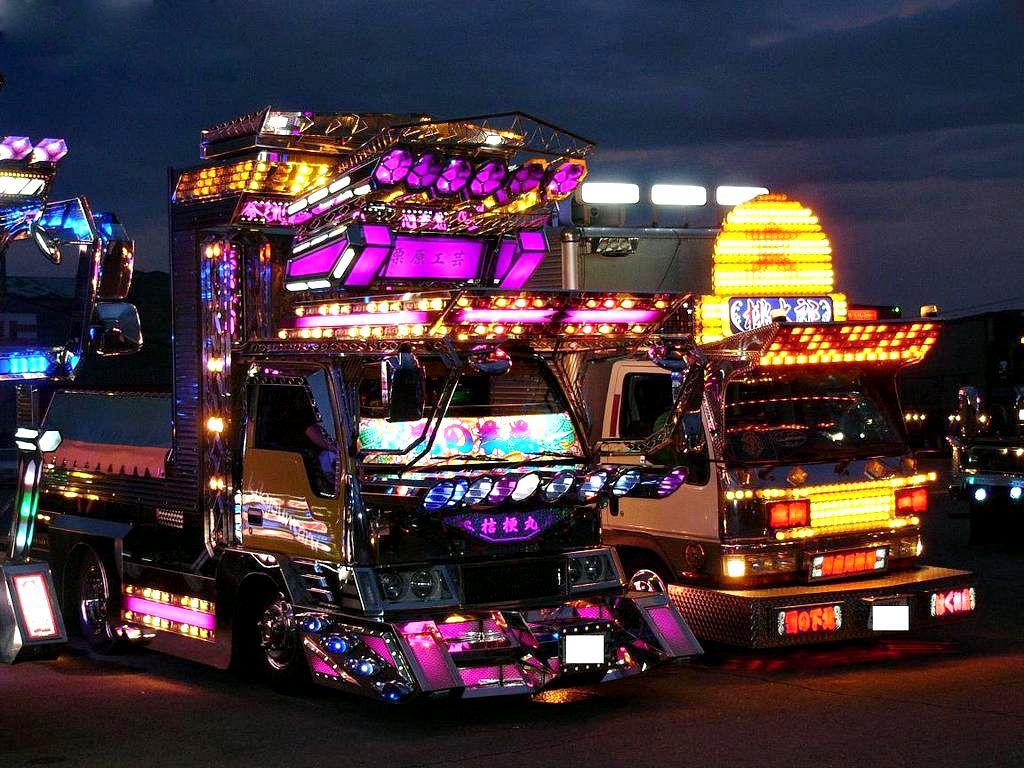 Dekotora Car Japanese Dekotora Truc...
