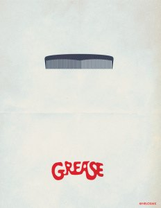 minimalist_movie_poster__grease_by_nelos-d4sasdd