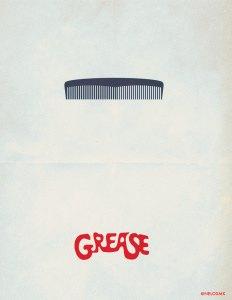 minimalist_movie_poster__grease_by_nelos-d4sasdd