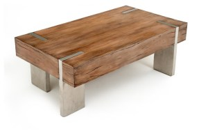 A Modern Rustic Table.