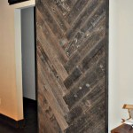 Herringbone Barn Door