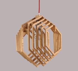 Nordic-Creative-Brief-Wooden-Pendant-Lamps-Hexagon