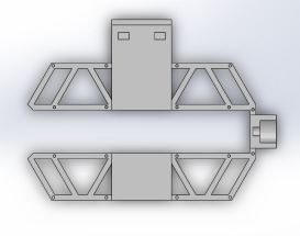 Frame top top view